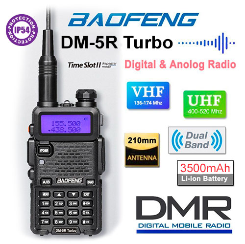 Baofeng DM-5R Turbo