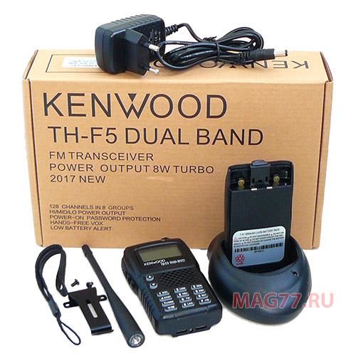 Двухдиапазонная рация Kenwood TH-F5 DUAL 8W