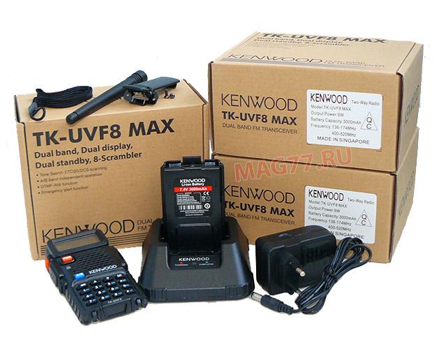 Рация Kenwood TK-UVF8 MAX